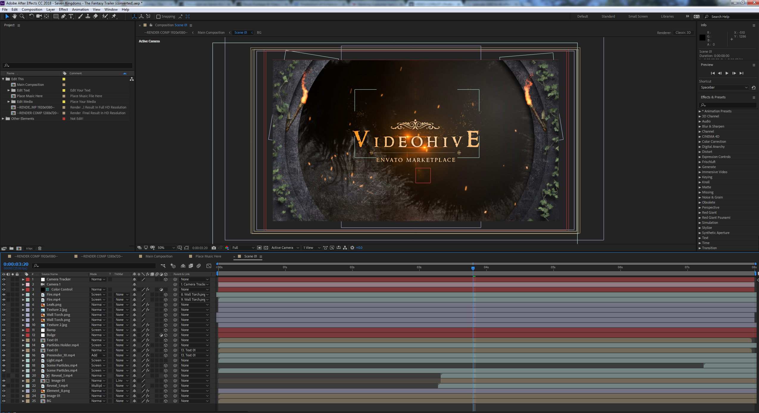 VIDEO COPILOT Professional After Effects Tutorials Plugins Pre - Music video template after effects